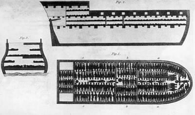 Slave Ship Art Print by Hulton Archive