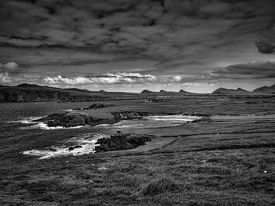 Photograph - Slea Head View Bw #i1 by Leif Sohlman