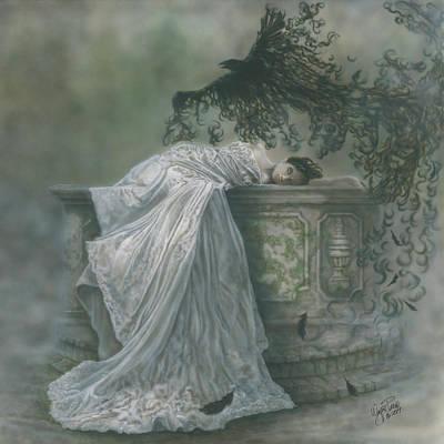 Painting - Sleeping Beauty by Wayne Pruse