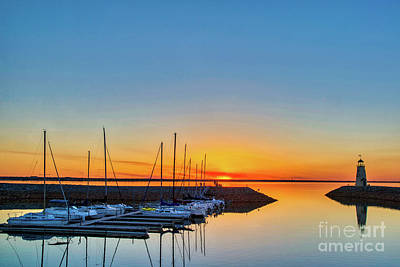 Little Mosters - Sleeping yachts by Paul Quinn