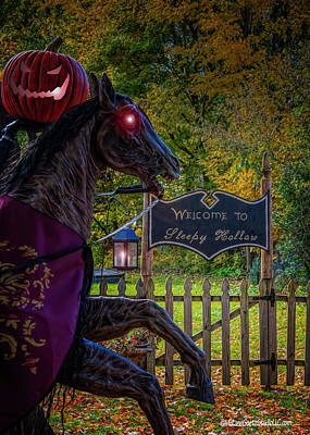 Photograph - Sleepy Hollow by LeeAnn McLaneGoetz McLaneGoetzStudioLLCcom