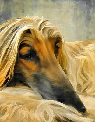 Digital Art - Sleepyhead by Diane Chandler