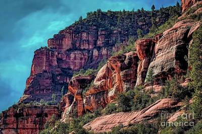 Photograph - Slide Rock State Park Arizona by Jon Burch Photography