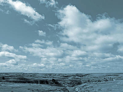 Photograph - Slope County And Sky by Cris Fulton
