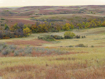 Photograph - Slope County September Serenade by Cris Fulton