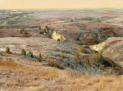 Photograph - Slopes Of The Prairie Ocean by Cris Fulton