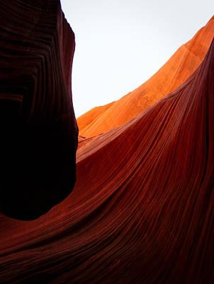 Photograph - Slot Canyon by Byron Fair