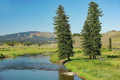 Photograph - Slough Creek by Todd Klassy