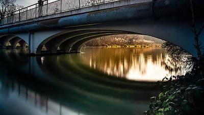 Photograph - small Bridge by Christine Sponchia
