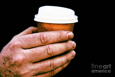 Photograph - Small Coffee Cup. by Rob D