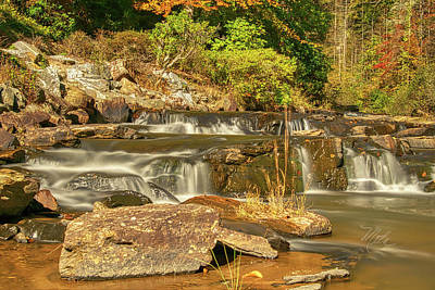 Photograph - Small Mountain Stream by Meta Gatschenberger