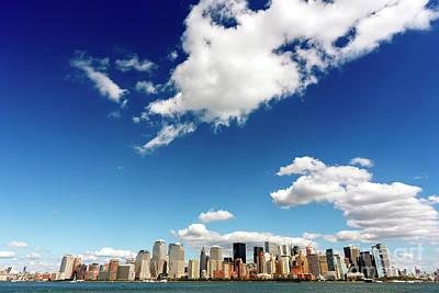 Photograph - Small World New York City by John Rizzuto