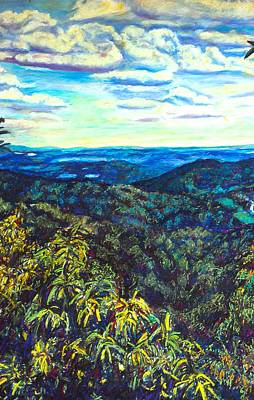 Painting - Smartview Blue Ridge Parkway by Kendall Kessler
