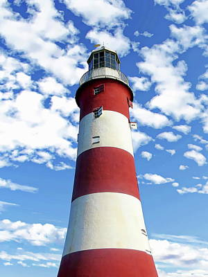 Photograph - Smeaton's Tower by Anthony Dezenzio