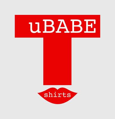 Digital Art - Smile T-shirt by Ubabe Style