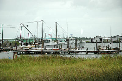 Photograph - Smith Island Workboats by Mark Duehmig