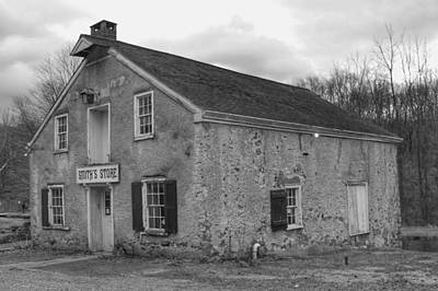 Photograph - Smith's Store - Waterloo Village by Christopher Lotito