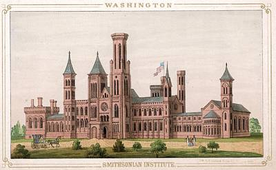 Smithsonian Institute Art Print by Hulton Archive