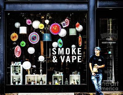 Photograph - Smoke And Vape Shop by Nick Zelinsky