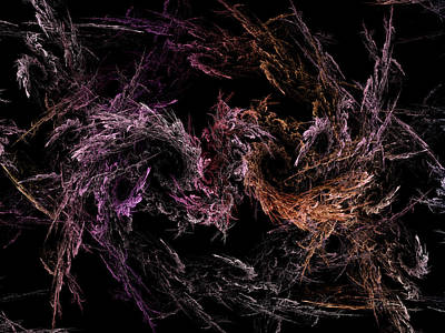 Digital Art - Smoke Dancing by Bill Posner