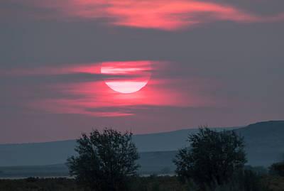 Photograph - Smokey Sunrise by Loree Johnson