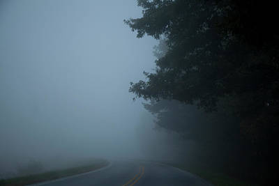 Photograph - Smoky Mountain Road by David Chasey