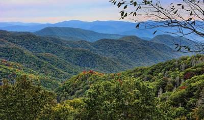 Photograph - Smoky Mountain Vista by HH Photography of Florida