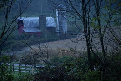 Photograph - Smoky Mountains Barn by David Chasey