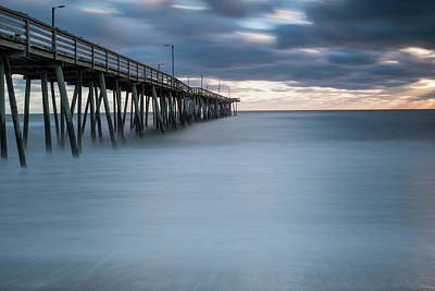 Photograph - Smooth As Glass Down By The Pier by Doug Ash