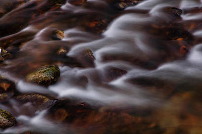 Photograph - Smooth Flow by Jenny Rainbow