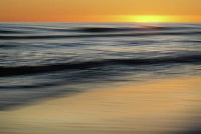Photograph - Smooth Sunset by Jeff Brunton