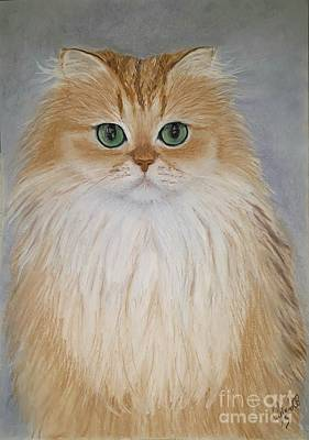 Wall Art - Painting - Smoothie The Cat by Cybele Chaves