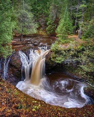 Photograph - Snake Pit Falls by Brad Bellisle
