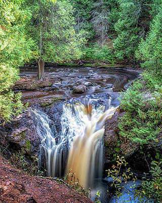 Photograph - Snake Pit Falls by Susan Rissi Tregoning
