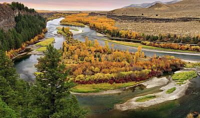 Photograph - Snake River Autumn by Leland D Howard