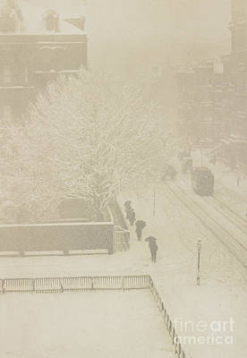 Snapshots Wall Art - Photograph - Snapshot, From My Window, New York, 1907 by Alfred Stieglitz and Clarence White