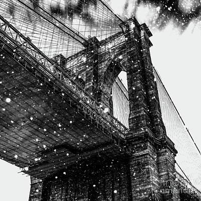 Digital Art - Snow Collection Set 08 by Az Jackson