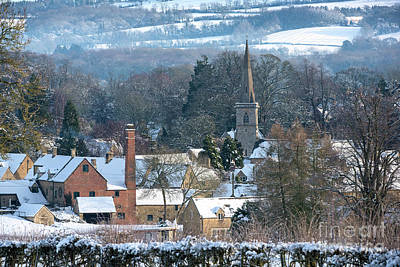 Photograph - Snow In The Cotswolds by Tim Gainey
