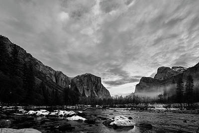 Photograph - Snow In Yosemite Valley II by Jon Glaser