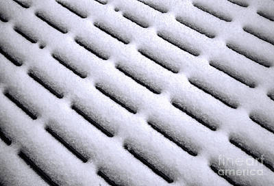 Photograph - Snow Patterns by Jon Burch Photography