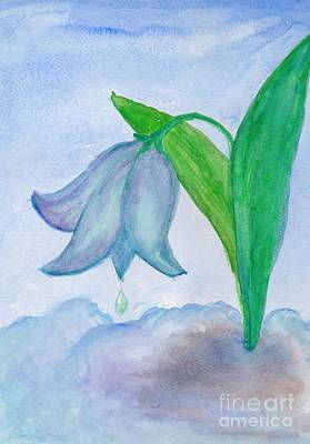 Painting - Snowdrop by Irina Dobrotsvet