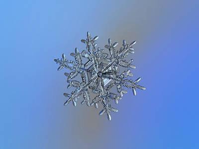 Photograph - Snowflake 2018-02-21 N3 by Alexey Kljatov