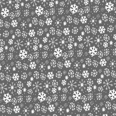 Digital Art - Snowflake Snowstorm With Silver Grey Gray Background by Taiche Acrylic Art