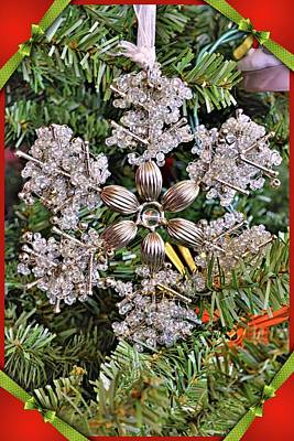 Photograph - Snowflake Vertical by Lisa Wooten