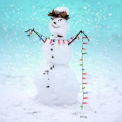 Photograph - Snowman by Juli Scalzi