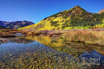 Photograph - Snowmass Creek by Joe Sparks