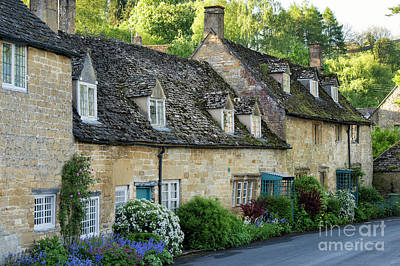 Photograph - Snowshill Cottages In Spring by Tim Gainey