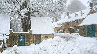 Photograph - Snowshill In The Snow by Tim Gainey