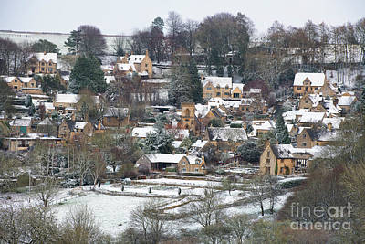 Photograph - Snowshill In Winter by Tim Gainey
