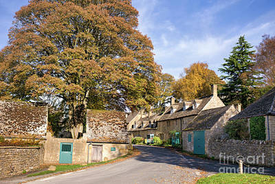 Photograph - Snowshill Village In Autumn by Tim Gainey